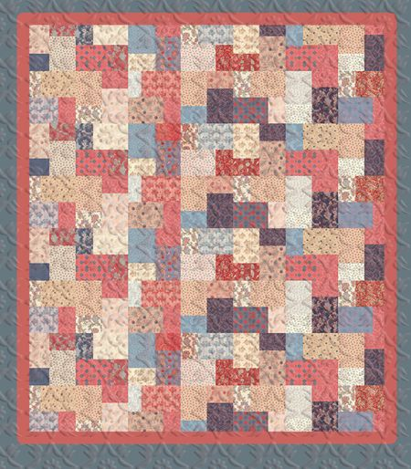 Layer Cake Double Slice Quilt Top Tutorial Easy and Simple ... : layer cake quilts free pattern - Adamdwight.com