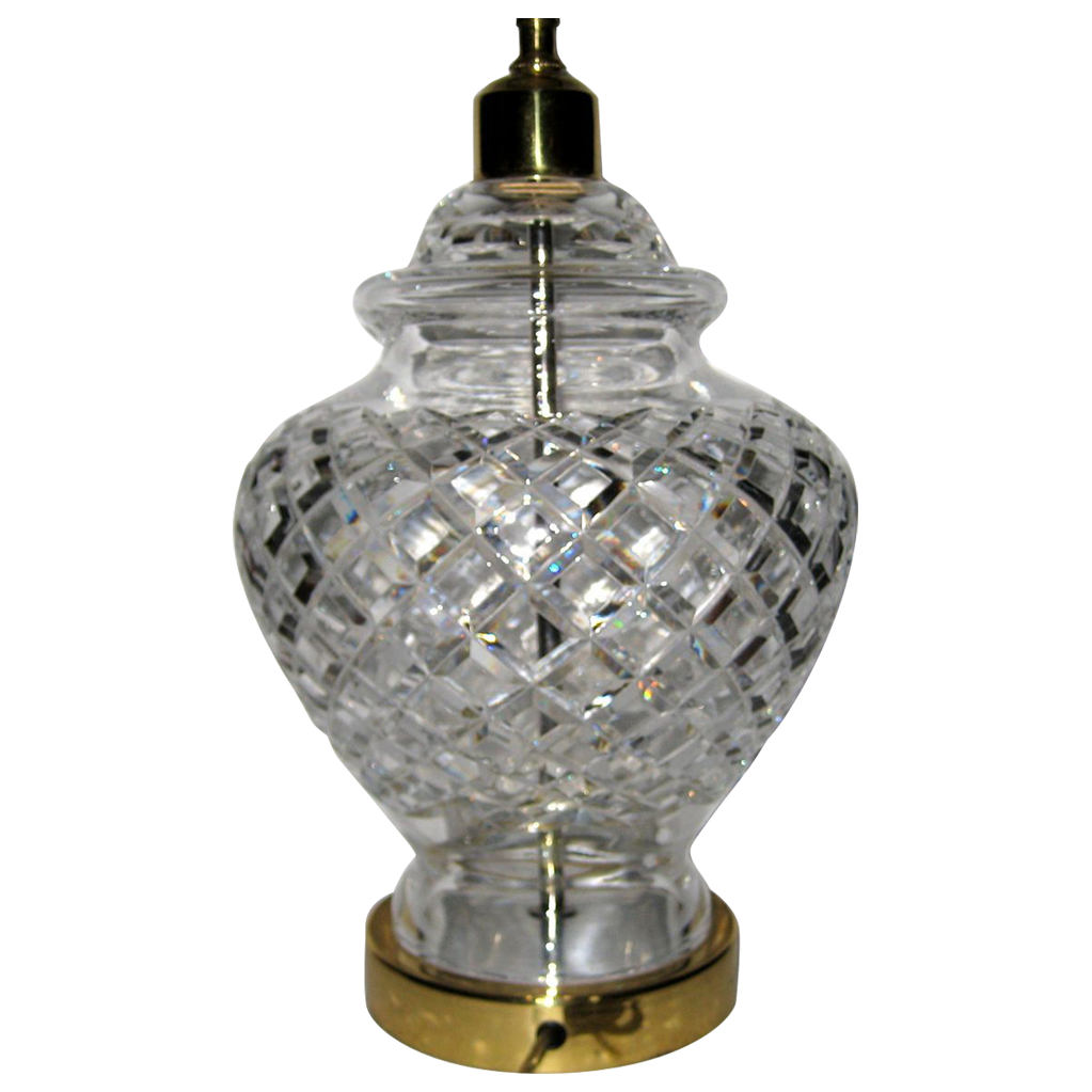 Large Waterford Crystal Lamp Base This Is A Discontinued Lamp