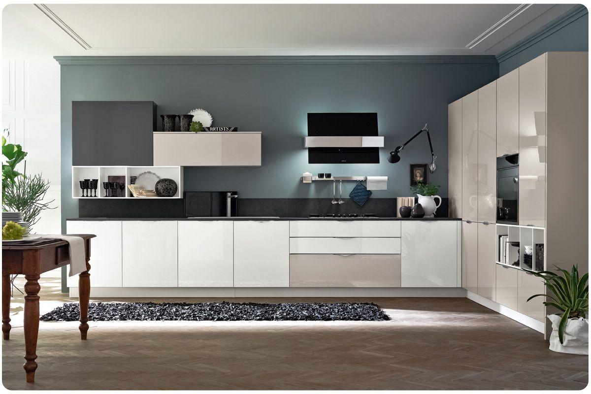 Cucine moderne componibili Stosa Aleve | Idee per la casa | Kitchen ...