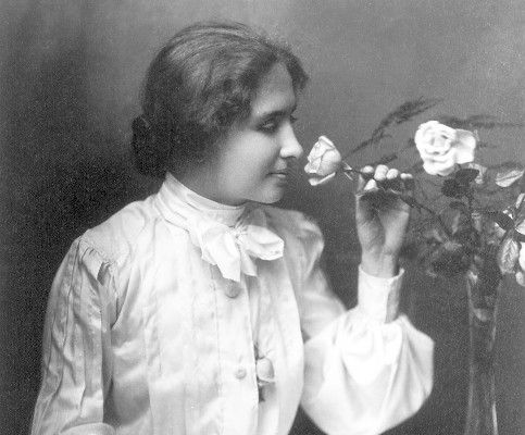 """""""Character cannot be developed in ease and quiet. Only through experience of trial and suffering can the soul be strengthened, ambition inspired, and success achieved.""""  -Helen Keller"""