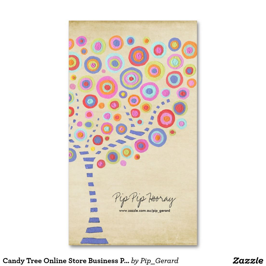 Candy Tree Online Store Business Profile Card | Trees online, Candy ...