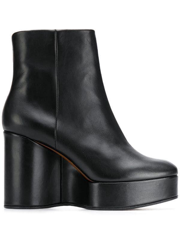 Clergerie Korta Stövlar Farfetch | Boots, Svarta stövlar