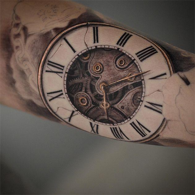 darwin enriquez tattoo klonblog6 tattoo pinterest uhrzeiten wecker und heilen. Black Bedroom Furniture Sets. Home Design Ideas