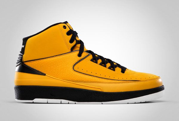 Nike Air Jordan 2 Candy Pack Yellow Size 11 (Right Shoe Only)