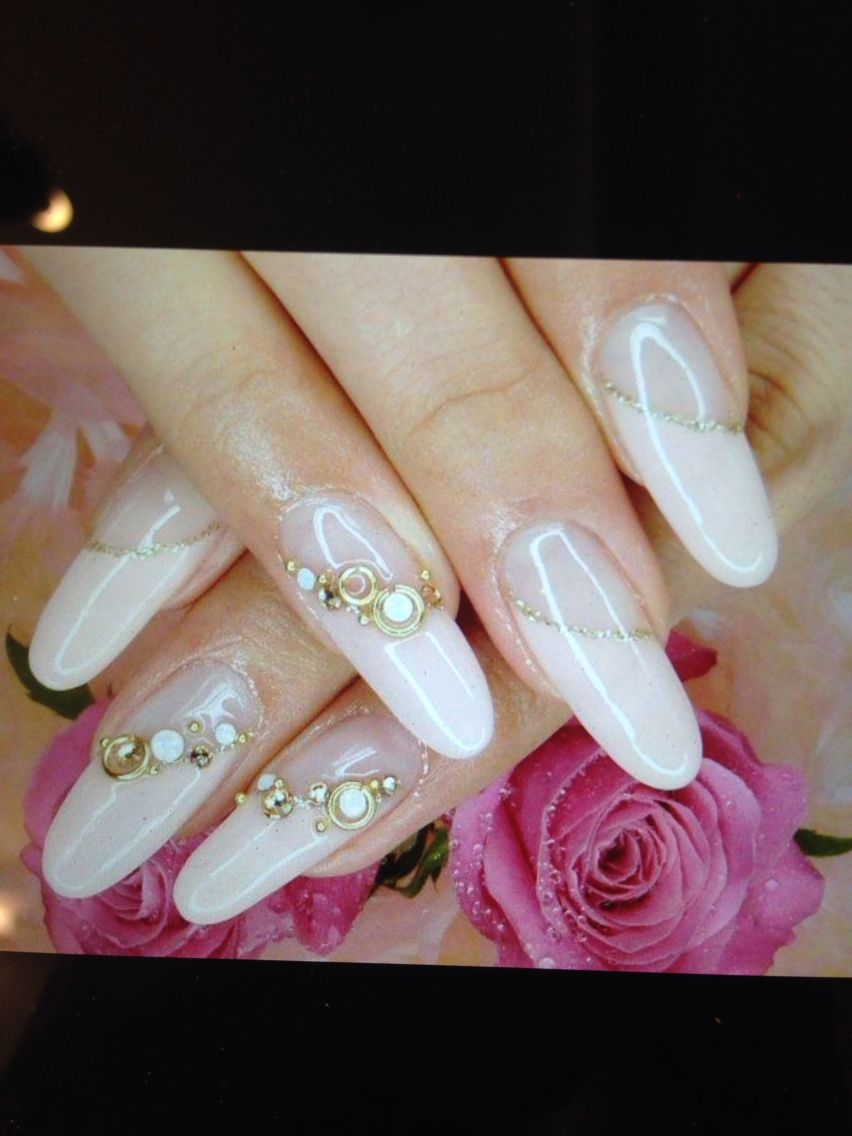 Contemporary Diamante Nail Art Image - Nail Art Ideas - morihati.com