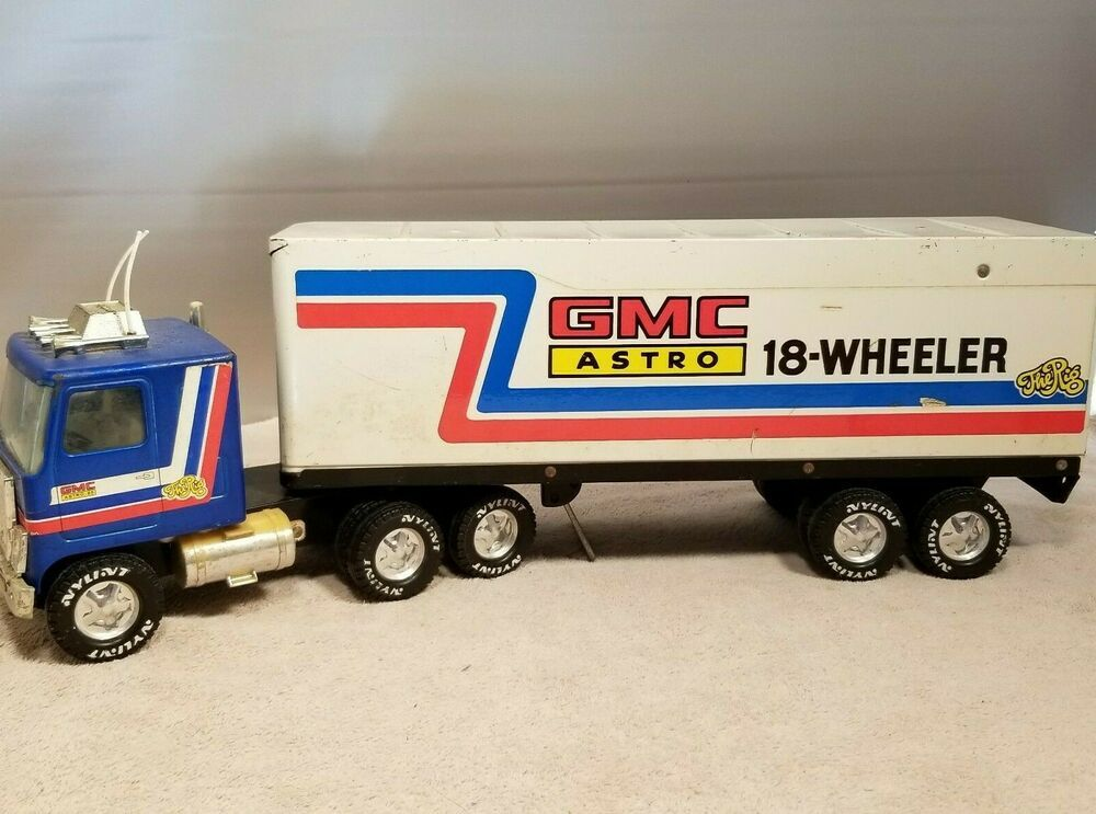 Pin On Vintage Toy Semi Truck