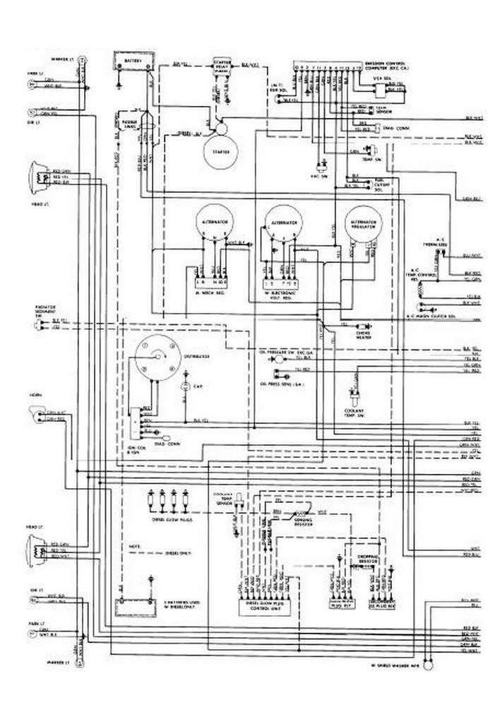 2080 of2 wiring diagram in 2020  schaltplan ford