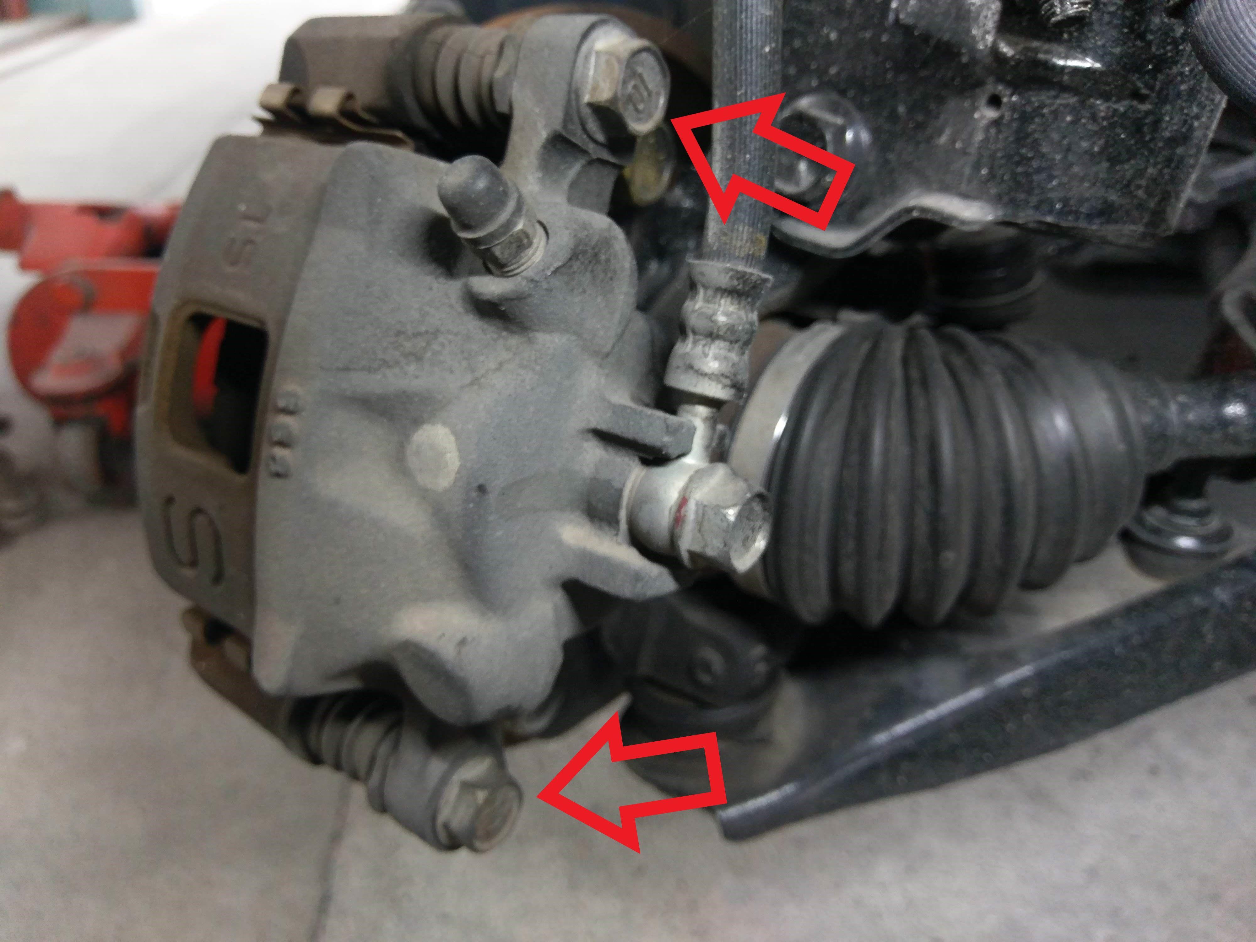 ワゴンr Mh21sブレーキキャリパ固定ボルト締め付けトルク ワゴンr スズキワゴンr ワゴン