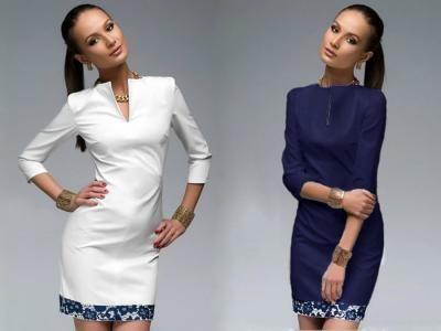Sukienka Dekolt V Pianka Lamowka Koronka Slim J274 4996598515 Oficjalne Archiwum Allegro Long Sleeve Blouse Dresses For Work Fashion