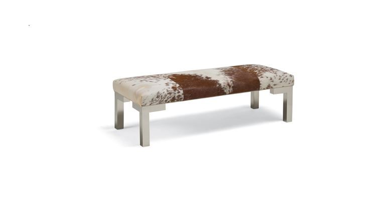 Winston Leather Bench From Mitchell Gold Bob Williams Ottoman Bench Leather Ottoman Ottoman