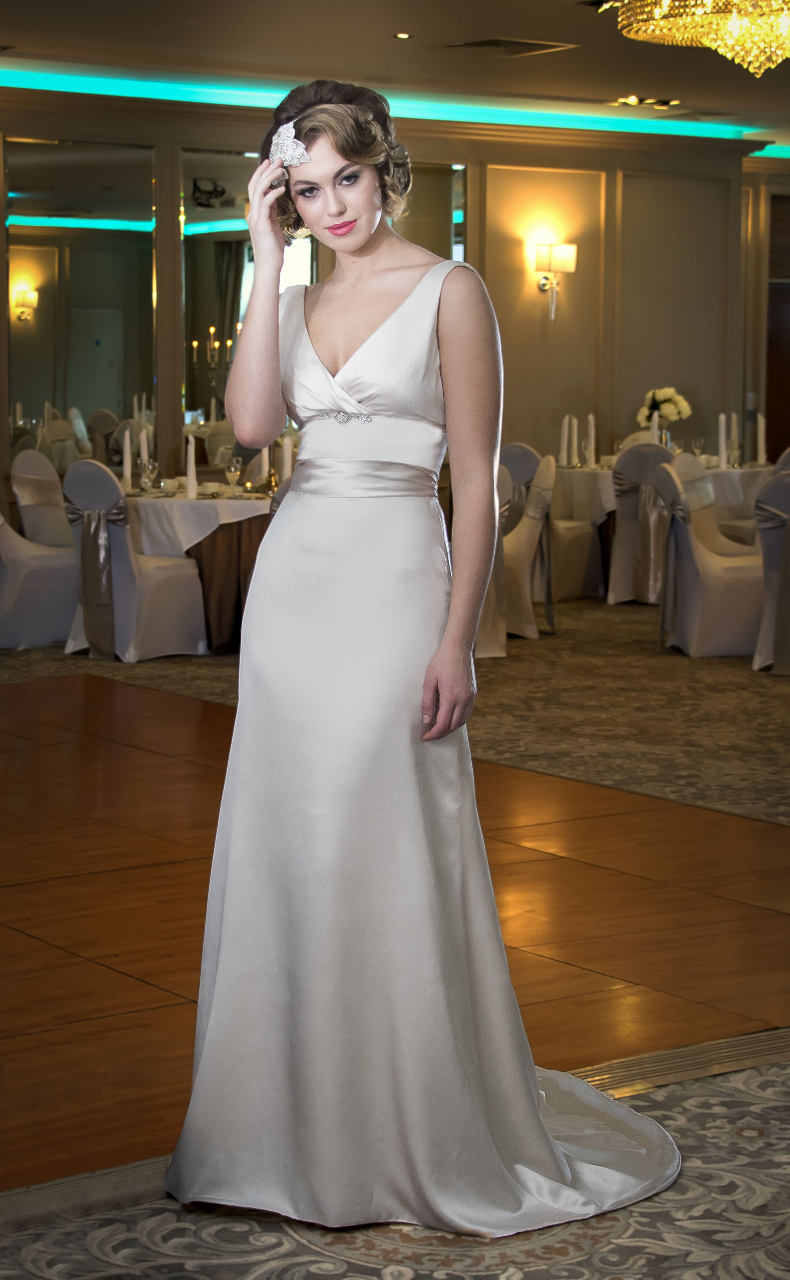 DePaor Bridal Gown shot for the Irish Wedding Diary