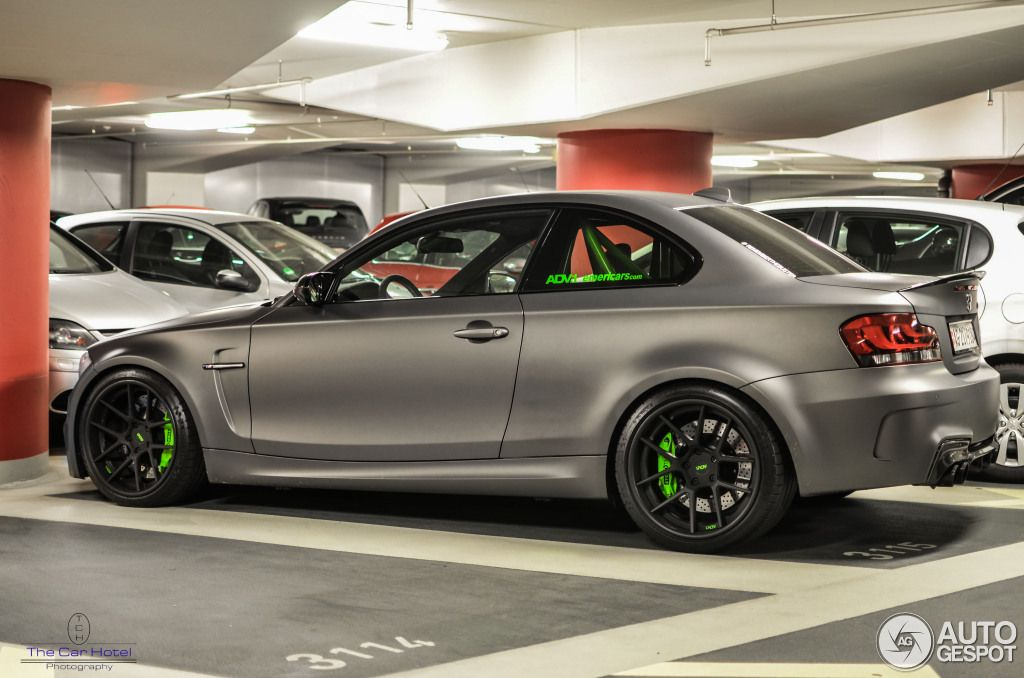 Beautiful Matte Grey Bmw 1m Coupe Spotted In Germany Bmw Bmw 1m Coupe Bmw Series