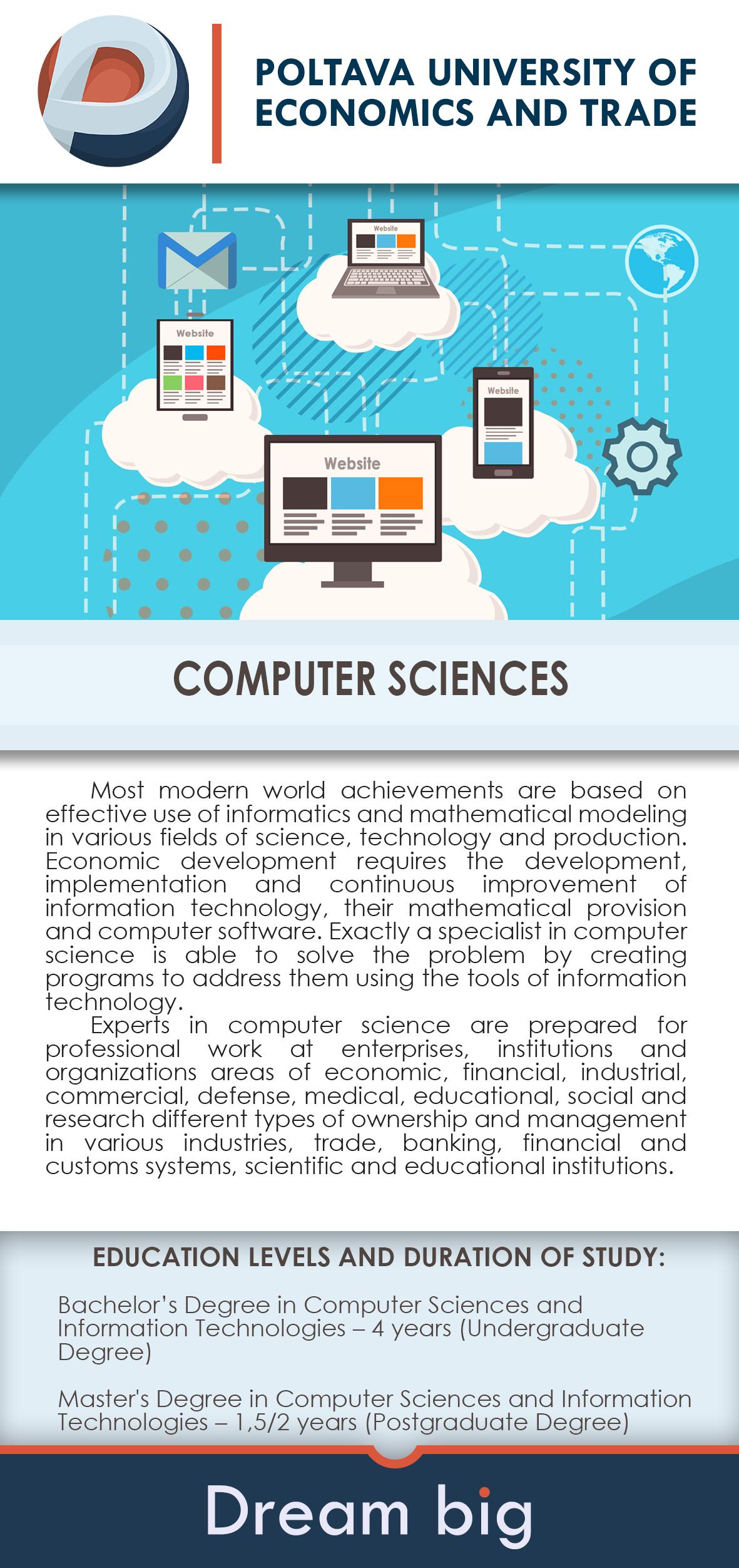 Study Abroad In Ukraine Eastern Europe Poltava University Of Economics Trade Bachelors De Computer Science Engineering Computer Science Fields Of Science