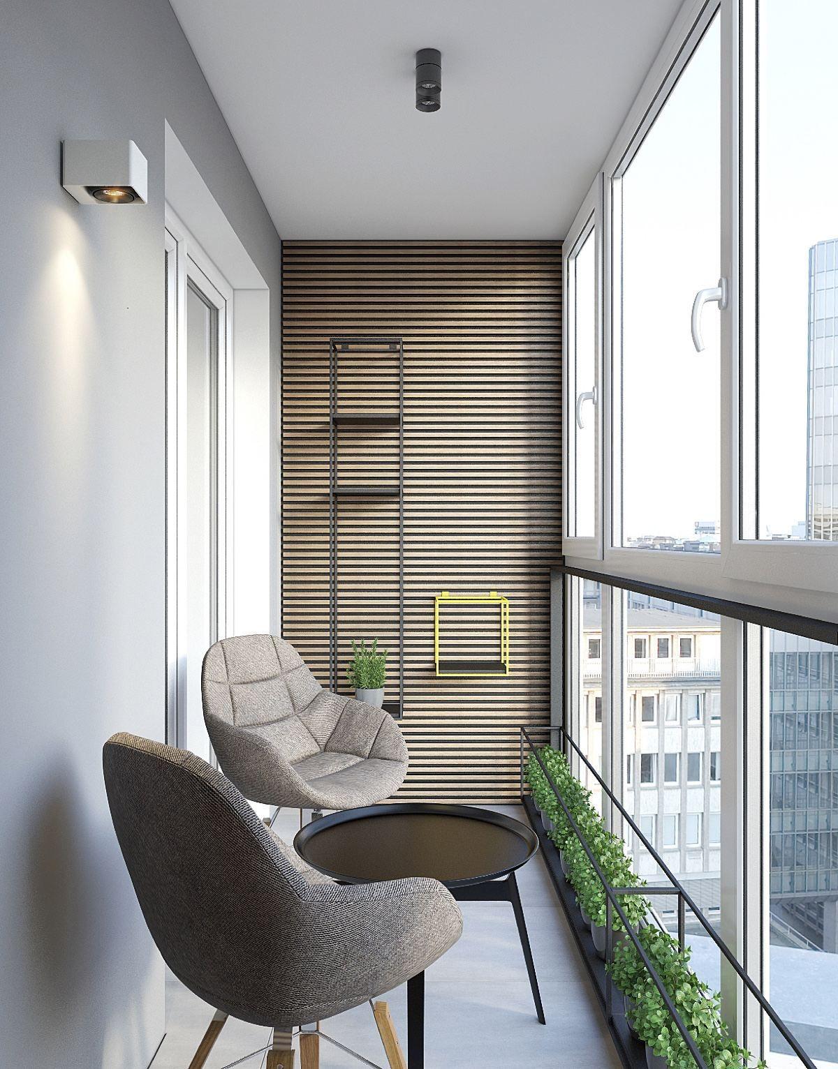 Дизайн балкона 3 метра, фото и оригинальные идеи.