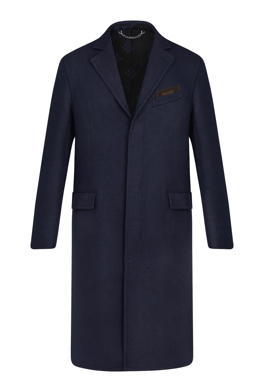 Louis Vuitton Staples Edition DOUBLEFACE MONOGRAM COAT