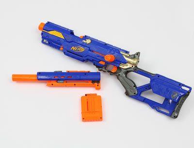 Guns · NERF Longstrike Sniper Rifle