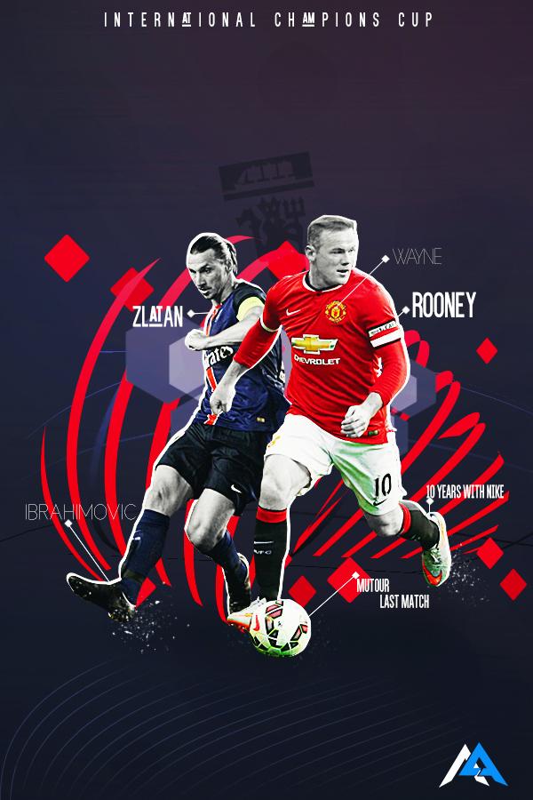 Final match of MUtour 2015! Man Utd vs PSG! Psg, Match
