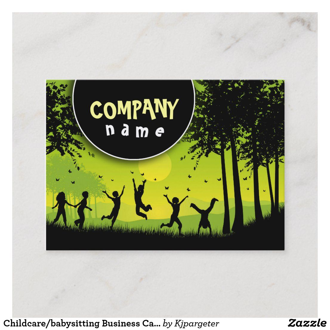 Photo of Childcare/babysitting Business Card | Zazzle.com
