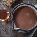 Pink Peppercorn Hot Dark Hot Chocolate