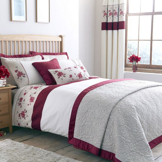 red country rose collection duvet cover dunelm bedding. Black Bedroom Furniture Sets. Home Design Ideas
