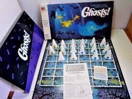Vintage 1985 Ghosts Board Game 1980's Milton Bradley Ghost