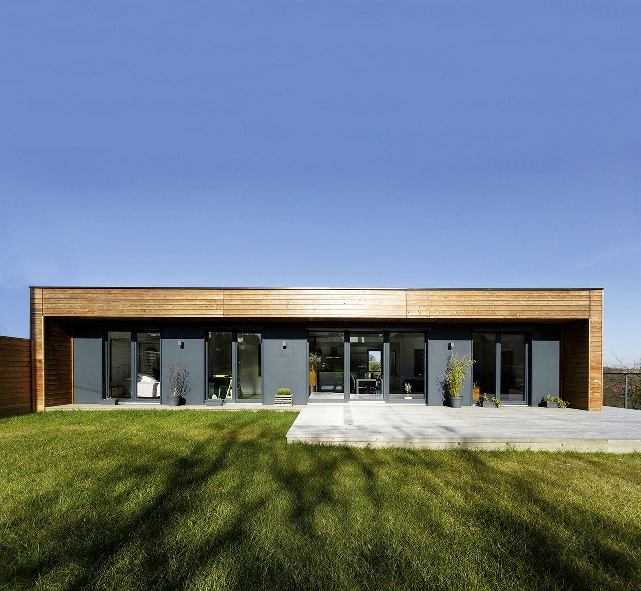Www Booa Fr Constructeur Archi Design Maisons Ossature Bois 100 Modulables Fabrication Francai Maison Ossature Bois Constructeur Maison Construction Maison