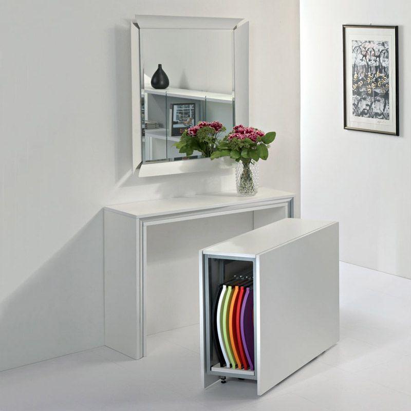 Fabrication D Une Console Extensible Allonges Integrees Console Extensible Table Console Extensible Mobilier De Salon