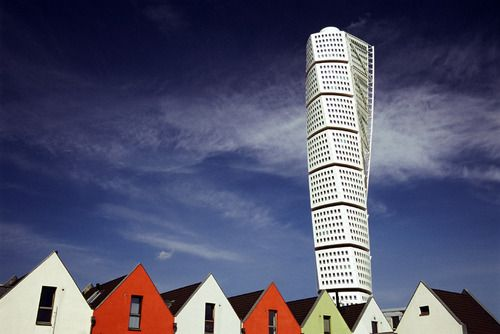 The Turning Torso in Malmo, Sweden