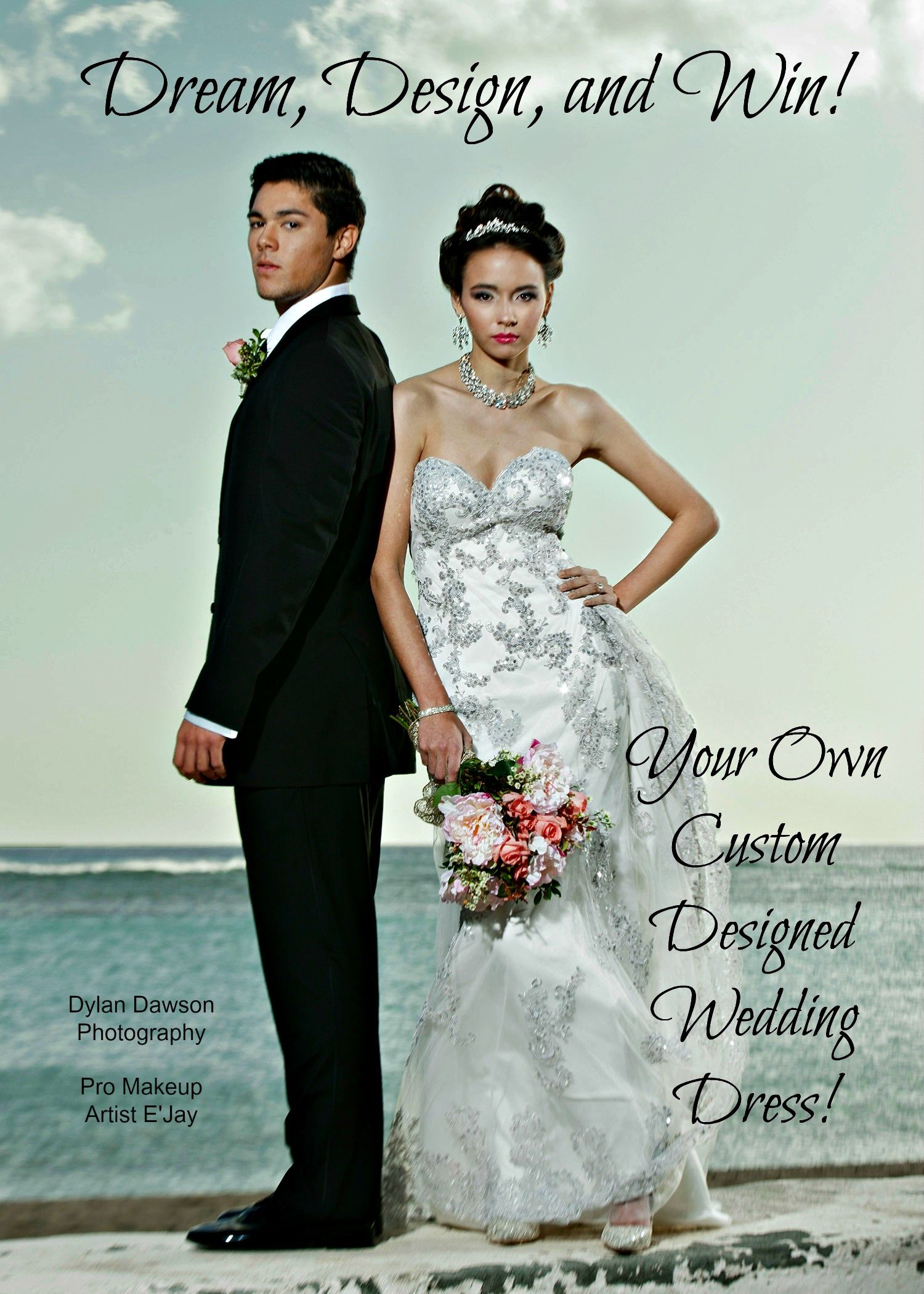 Design your own wedding dress and get it produced for free