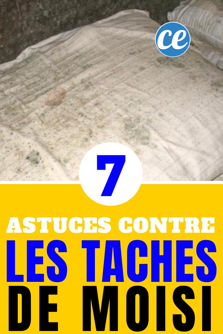 19 Astuces pour Enlever des Taches de Moisissure Sur du Tissu