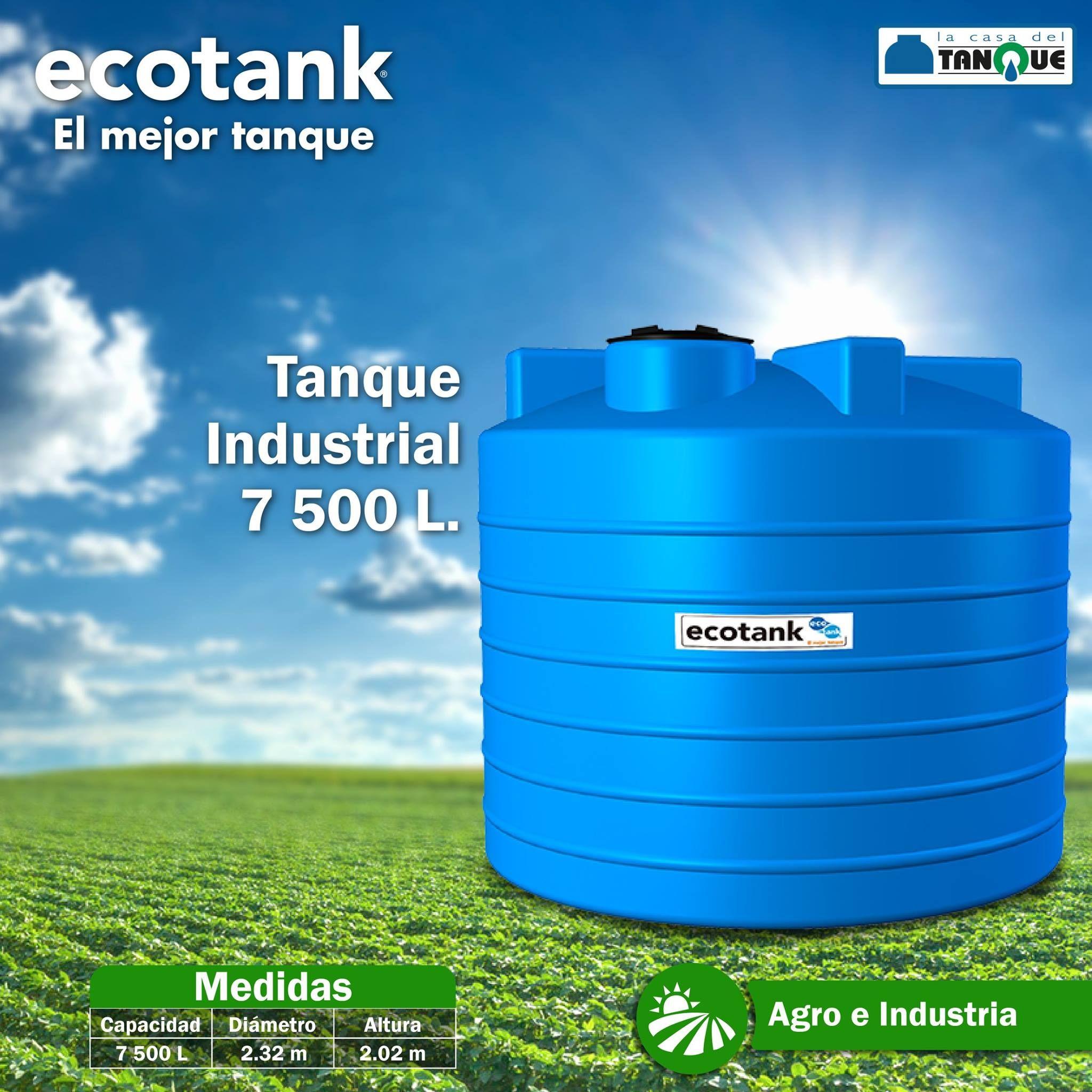 Tanque industrial de almacenamiento de agua capacidad de for Tanques de agua medidas