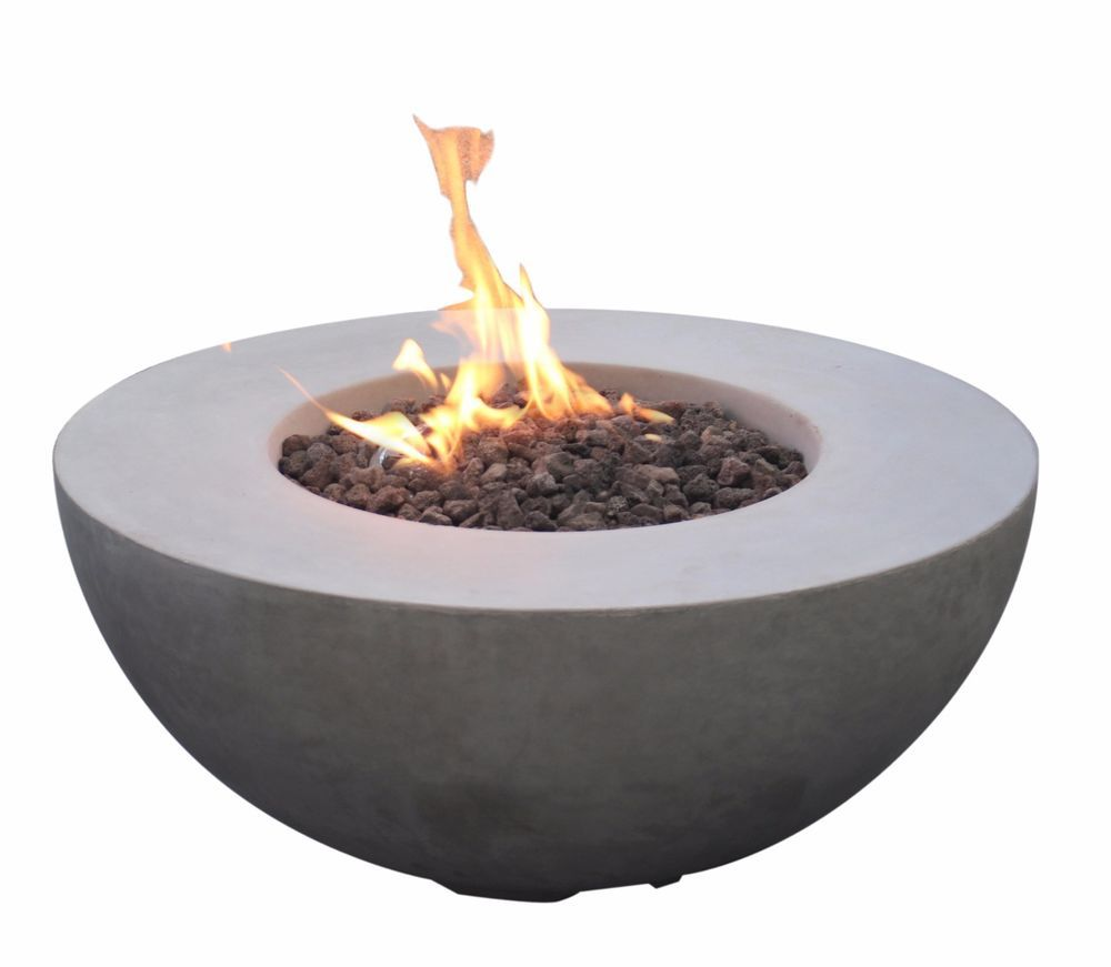 Roca Bowl Fire Pit Eco Stone Gas Fire Pit Modeno Uk Grey Ebay Outdoor Propane Fire Pit Fire Pit Lowes Gas Firepit