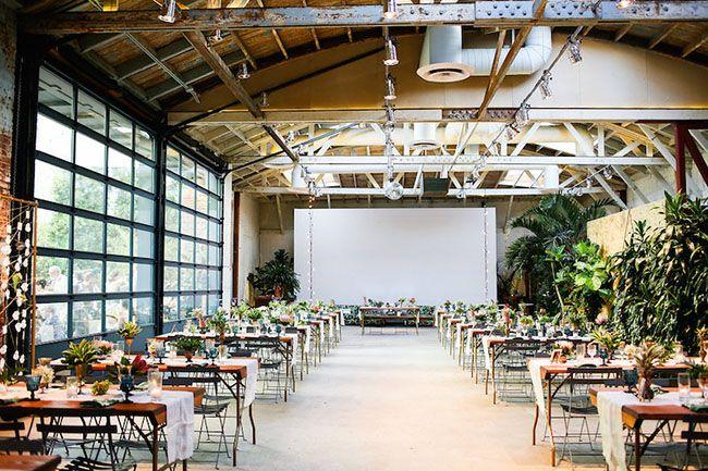 An Urban Jungle Wedding At Millwick Season Kier Reception