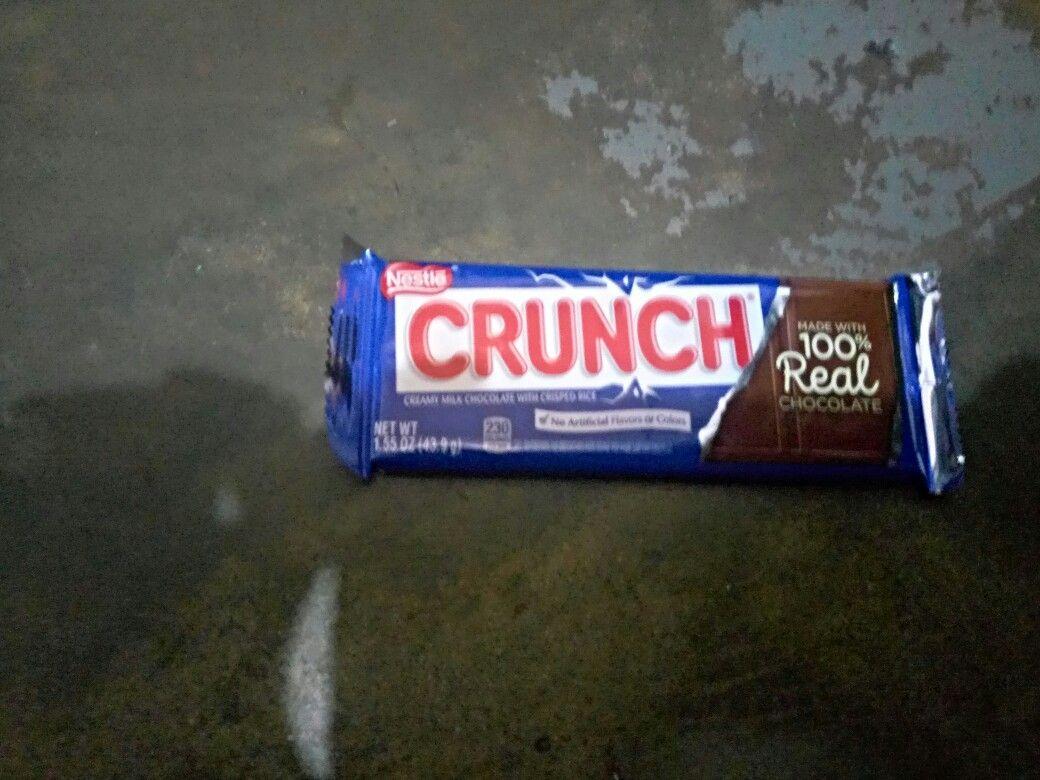 Is it Nestle crunch? Worth it? Or feel it? Nestle crunch