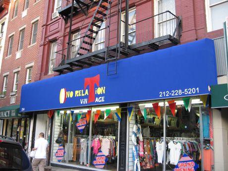 No Relation Vintage Ny Nyc Shopping New York Shopping Vintage New York