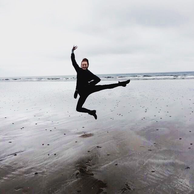 Leaping in Scotland