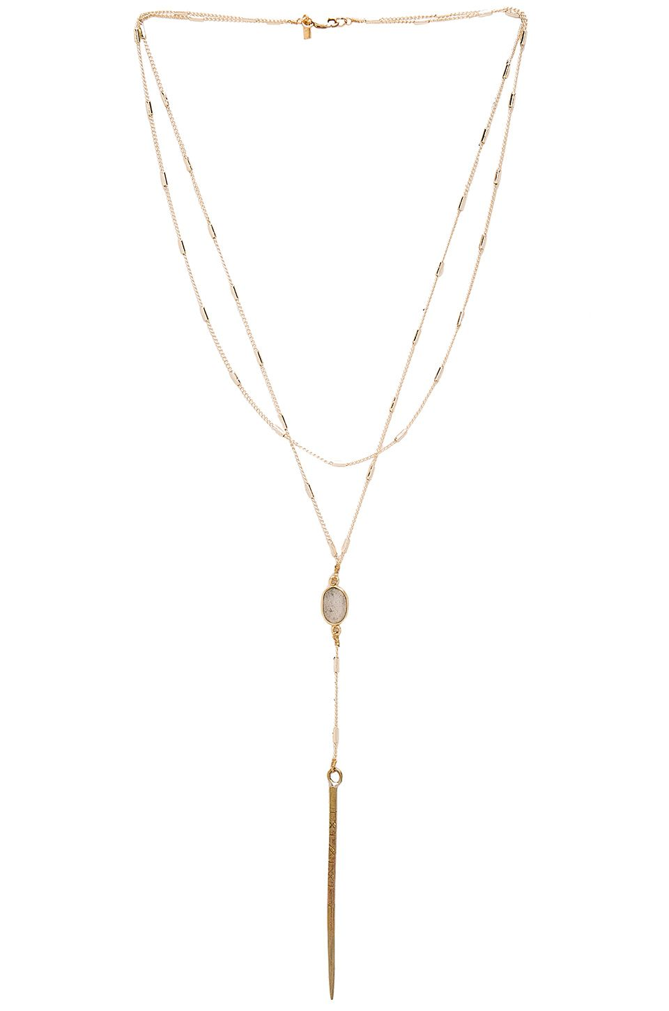 Vanessa mooney courtney necklace in gold stitch fix inspiration