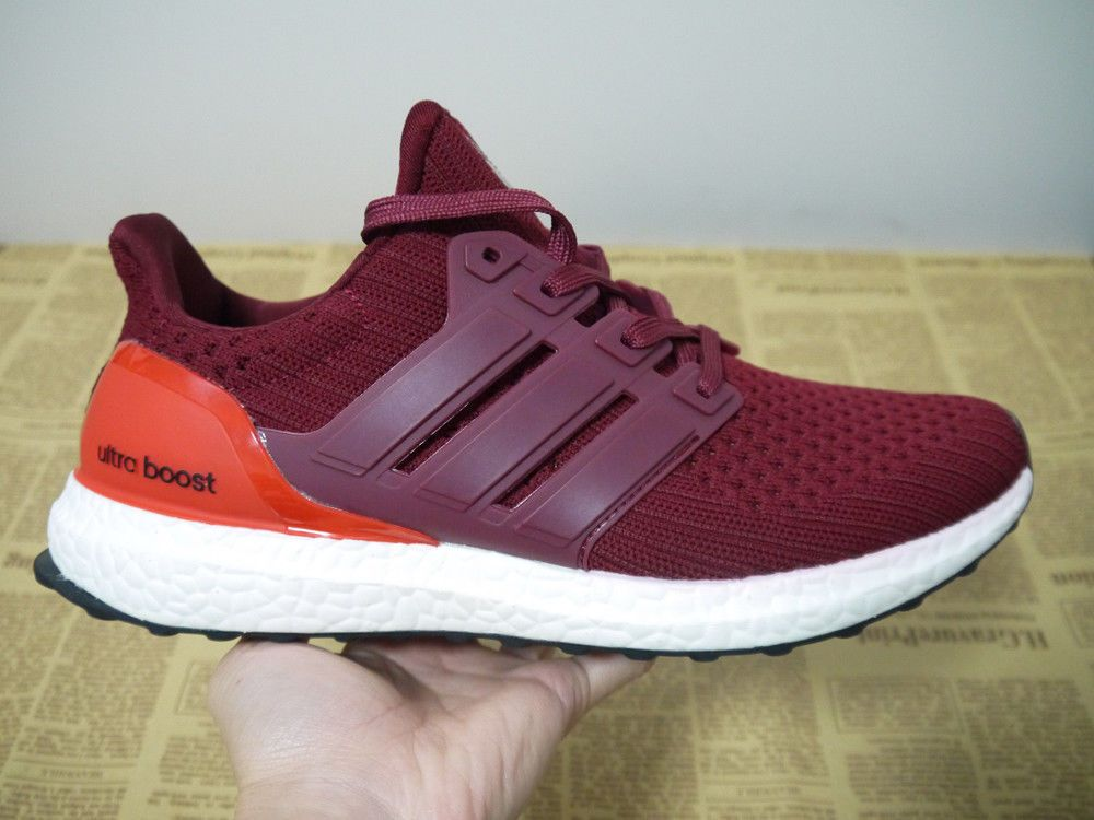 reputable site 31236 ce698 Adidas Ultra Boost 4.0 Energy Red White Size 8 Men's Running ...