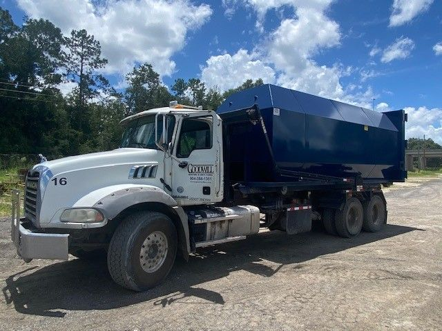 New Compactor Receiver Container For Sale American Made Dumpsters In 2020 Compactor Containers For Sale Dumpsters