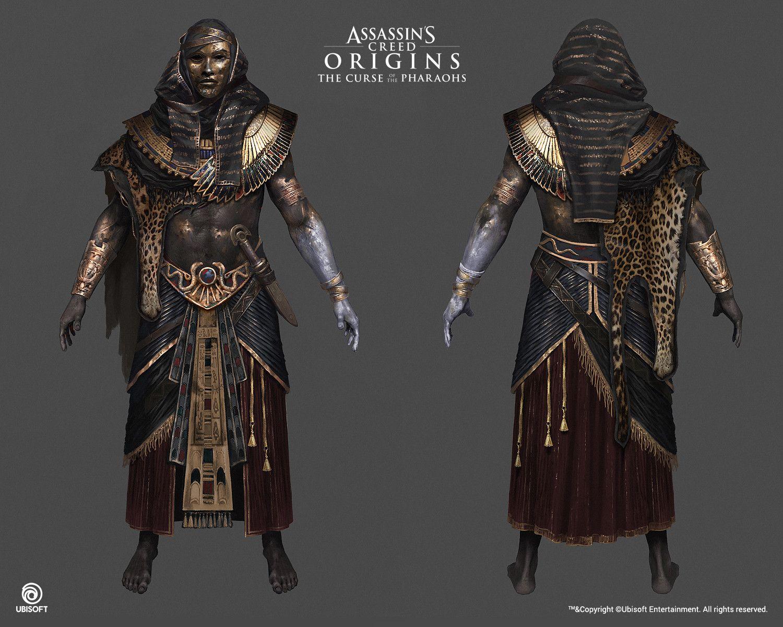 Artstation Assassin S Creed Origins The Curse Of The Pharaohs