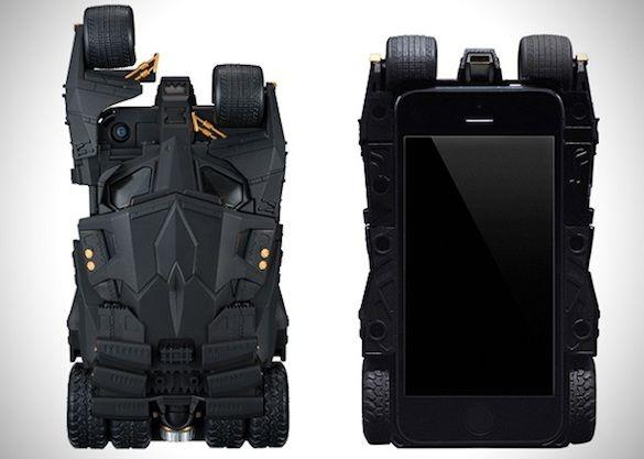 The Ultimate Bat-Fan iPhone Case, designed after Batman's Tumbler from 'The Dark Knight' #Batman #DarkKnight