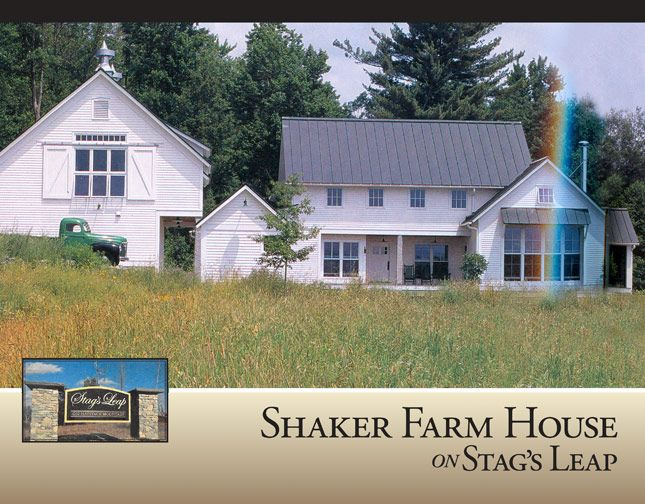 shakerfarmhouse Dream House Pinterest Shaker style Farm