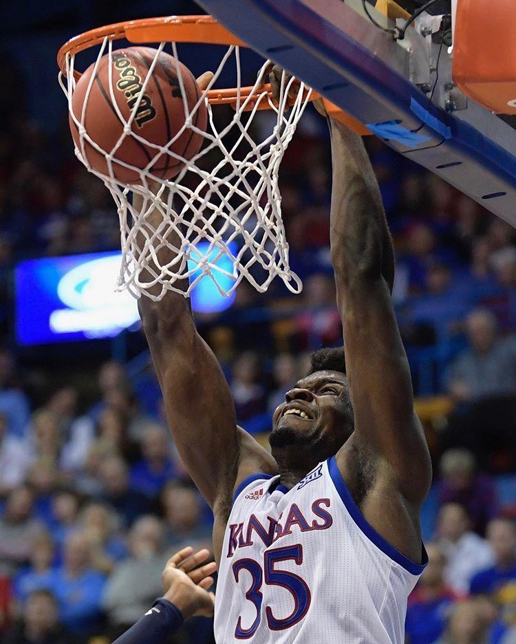 """Kansas Basketball on Instagram """"Go easy on the rim"""