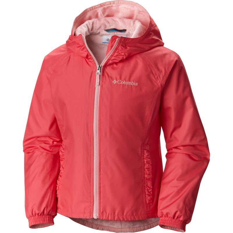 Columbia Girls' Ethan Pond Jacket, Size: Large, Bright Geranium ...