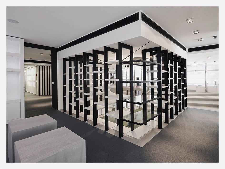 #Sarielkhazenarchitects #boutique #design #library #interior