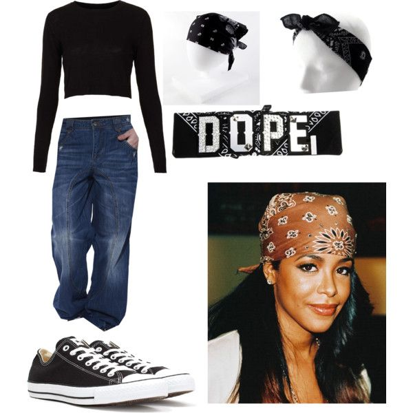 Aaliyah Inspired Halloween Costume By Xxfashionkillaxx On Polyvore Featuring Polyvore Fashion