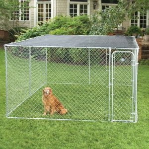 Fencemaster 10 X 10 Sunblock Kennel Top Petsmart Temporary