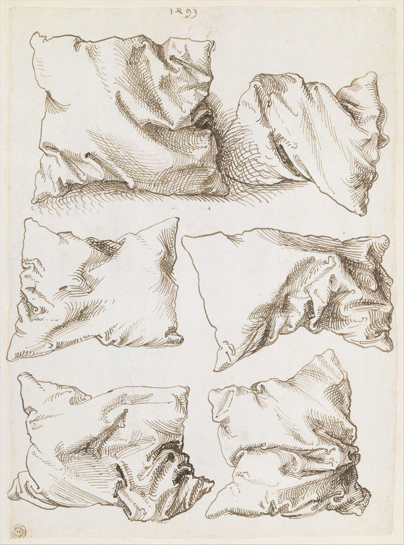 """abridurif: """" Albrecht Dürer, Six oreillers, 1493 """""""