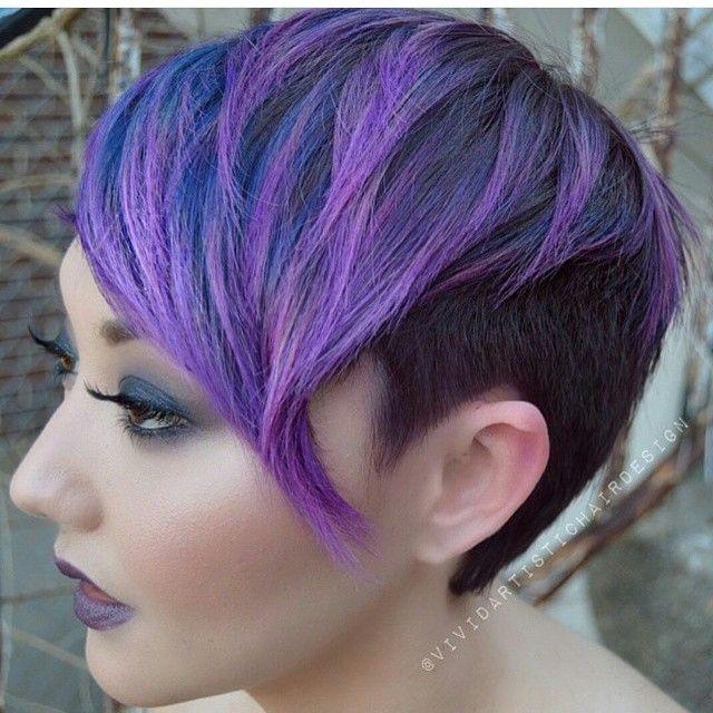 Extreme Frisuren Wilde Lila Haartollen Hast Du Den Mut Neue