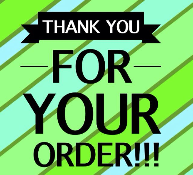 Thank You For Your Order Color Street Nails Norwex Party